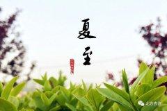 【夏至已至】东边日出西边雨,品传统习俗,享