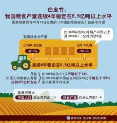 国务院新闻办发布《中国的粮食安全》白皮书