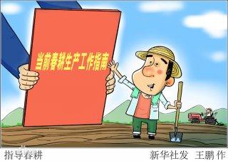 中央出台系列举措落实春季农业生产,保