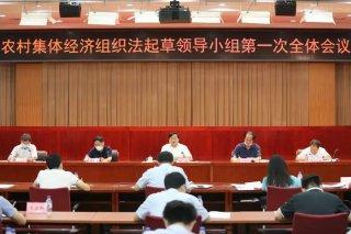 农村集体经济组织要立法了!