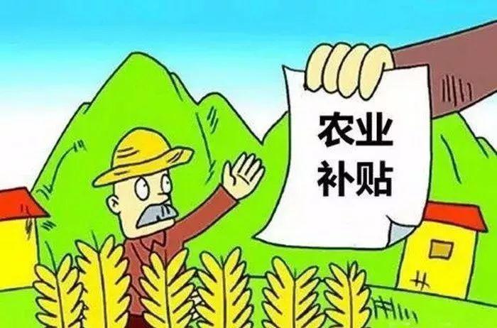 这6类涉农补贴,你领取了吗?